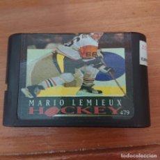 Videojuegos y Consolas: MARIO LEMIEUX HOCKEY MEGADRIVE JAPONES CARTUCHO. Lote 204987833