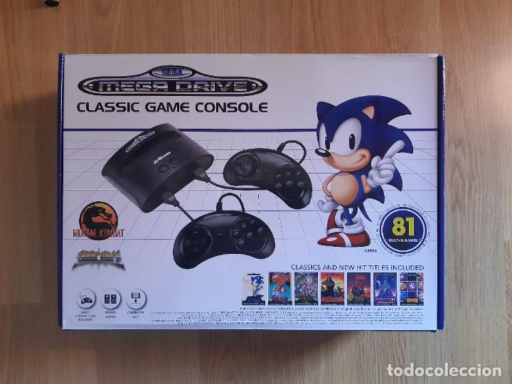 SEGA MEGADRIVE MINI,81 JUEGOS,COMO NUEVA (Juguetes - Videojuegos y Consolas - Sega - MegaDrive)