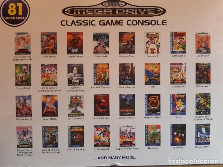 Videojuegos y Consolas: Sega Megadrive mini,81 juegos,como nueva - Foto 3 - 205285138