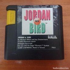 Videojuegos y Consolas: JORDAN VS BIRD MEGA DRIVE CARTUCHO. Lote 205452915