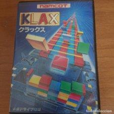 Videojuegos y Consolas: KLAX MEGA DRIVE JAPONES COMPLETISIMO. Lote 205655626