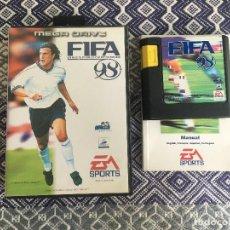 Videojuegos y Consolas: FIFA 98 MEGADRIVE. Lote 206258671