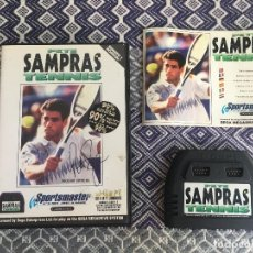 Videojuegos y Consolas: SAMPRAS TENIS. MEGADRIVE. Lote 206259665