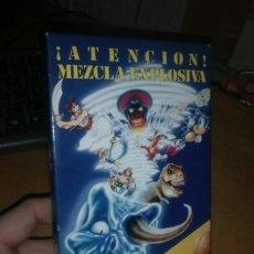 Videojuegos y Consolas: VHS: ATENCIÓN! MEZCLA EXPLOSIVA. Lote 206354462