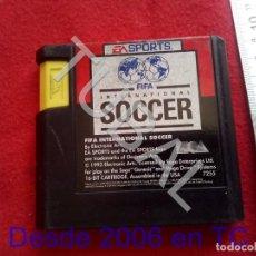 Videojuegos y Consolas: TUBAL FIFA INTERNATIONAL SOCCER SEGA ELECTRONIC ARTS FUNCIONANDO CJ4. Lote 206367266