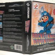Videojogos e Consolas: CARATULA PERSONALIZADA ROCKET KNIGHT ADVENTURES REPRO SEGA MEGA DRIVE. Lote 206428966