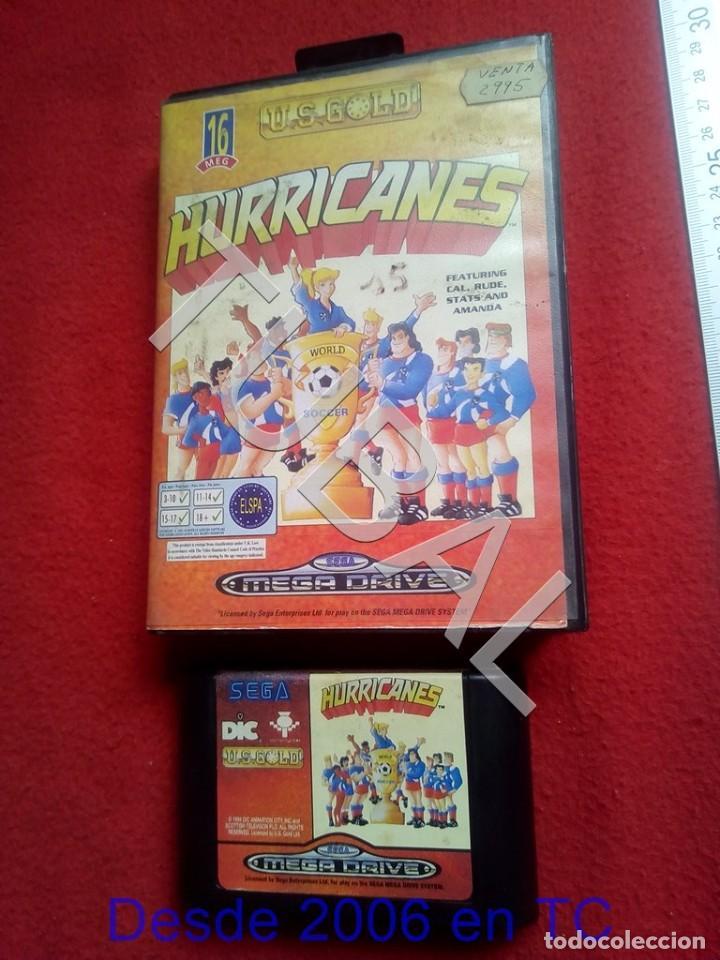 TUBAL HURRICANES SEGA MEGADRIVE FUNCIONANDO U26 (Juguetes - Videojuegos y Consolas - Sega - MegaDrive)