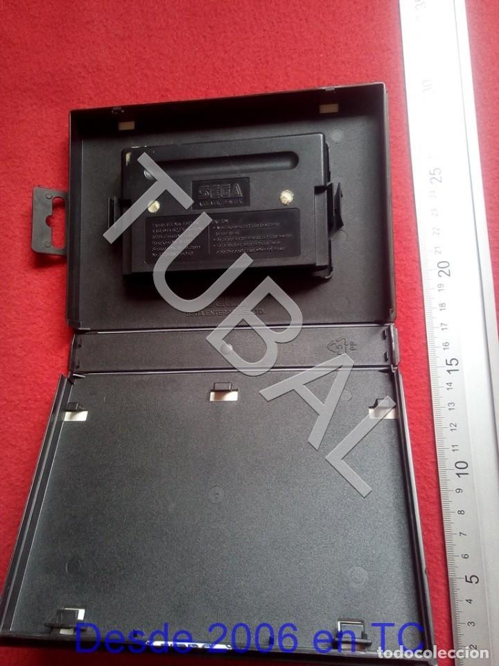 Videojuegos y Consolas: TUBAL HURRICANES SEGA MEGADRIVE FUNCIONANDO U26 - Foto 2 - 206907502