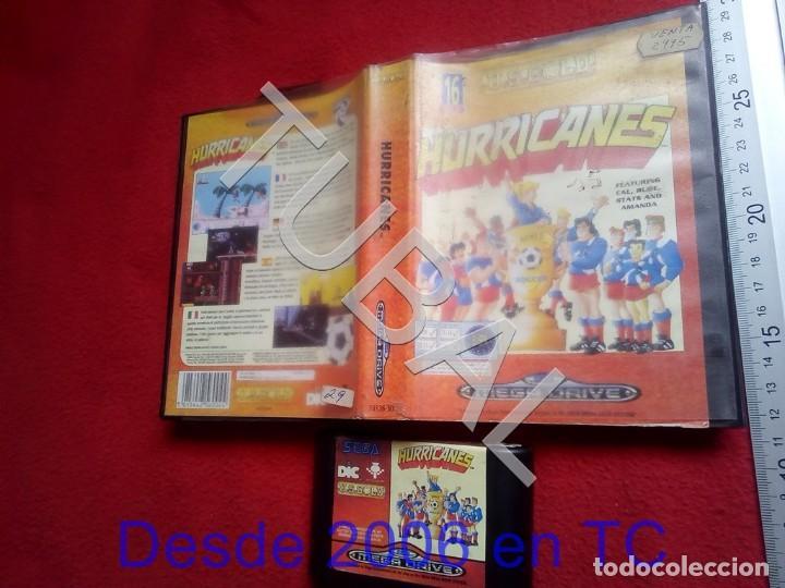 Videojuegos y Consolas: TUBAL HURRICANES SEGA MEGADRIVE FUNCIONANDO U26 - Foto 5 - 206907502
