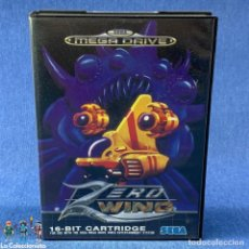 Videojogos e Consolas: VIDEOJUEGO SEGA MEGA DRIVE 16 BIT ZERO WING + CAJA + INSTRUCCIONES. Lote 207018463