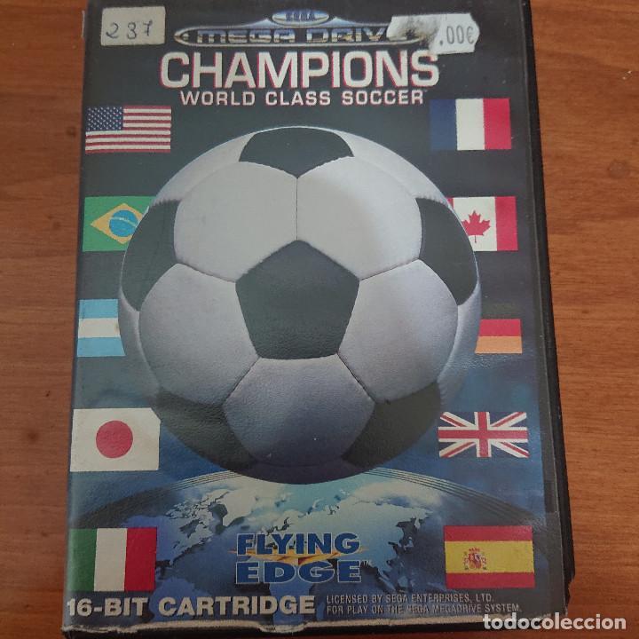 CHAMPIONS WORLD MEGA DRIVE SIN MANUAL (Juguetes - Videojuegos y Consolas - Sega - MegaDrive)