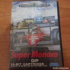 Videojuegos y Consolas: SUPER MONACO GP MEGA DRIVE SIN MANUAL. Lote 207033015