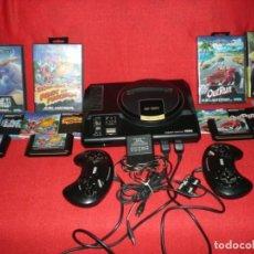 Videojogos e Consolas: SEGA MEGADRIVE CON DOS MANDOS, CABLES Y CUATRO JUEGOS. Lote 207085846