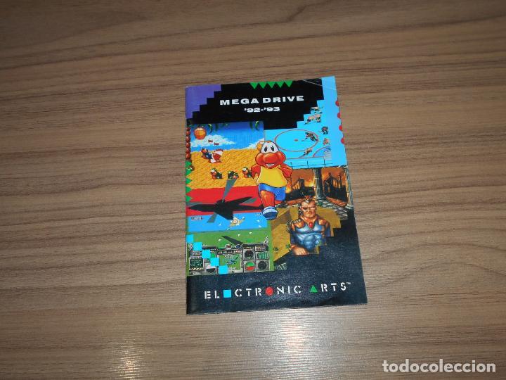 CATALOGO ORIGINAL JUEGOS SEGA MEGADRIVE ELECTRONIC ARTS (Juguetes - Videojuegos y Consolas - Sega - MegaDrive)