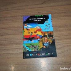 Videojuegos y Consolas: CATALOGO ORIGINAL JUEGOS SEGA MEGADRIVE ELECTRONIC ARTS. Lote 209573985