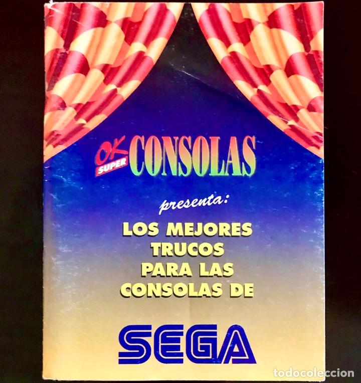CATALOGO OK SUPER LOS MEJORES TRUCOS PARA LAS CONSOLAS SEGA MEGA DRIVE MASTER SYSTEM 1993 64 PAGINAS (Juguetes - Videojuegos y Consolas - Sega - MegaDrive)