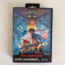 Videojuegos y Consolas: STREET FIGHTER II. MEGA DRIVE.. Lote 210404807
