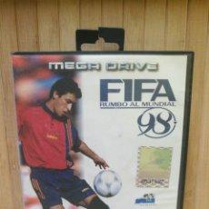Videojuegos y Consolas: FIFA 98 JUEGO CONSOLA MEGA DRIVE. Lote 210608510