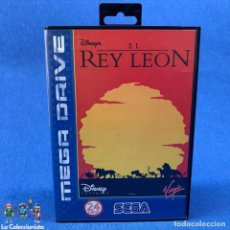 Videojuegos y Consolas: VIDEOJUEGO SEGA MEGA DRIVE EL REY LEÓN + CAJA + INSTRUCCIONES. Lote 210638472