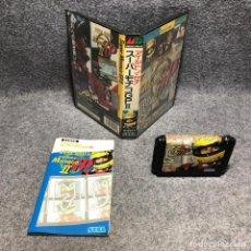 Videojuegos y Consolas: AYRTON SENNAS SUPER MONACO GP II SEGA MEGA DRIVE. Lote 210756656