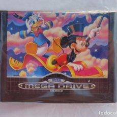 Videojuegos y Consolas: SEGA MEGA DRIVE WORLD OF ILLUSION DISNEY'S MICKEY MOUSE & DONALD DUCK JUEGO. Lote 211800688