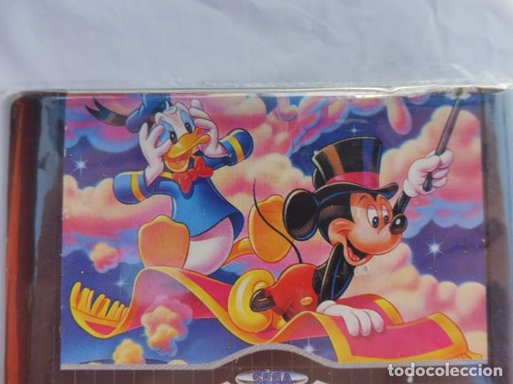Videojuegos y Consolas: Sega mega drive World of illusion disneys mickey mouse & donald duck juego - Foto 3 - 211800688
