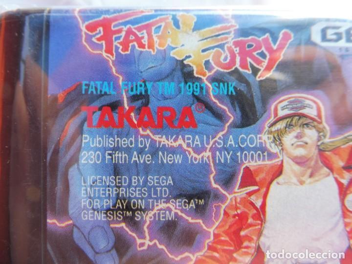 Videojuegos y Consolas: Sega mega drive genesis Fatal Fury 1991 Takara juego - Foto 4 - 211801412
