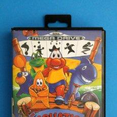 Videojuegos y Consolas: SEGA MEGADRIVE - AQUATIC GAMES - PAL ESP. Lote 211956862