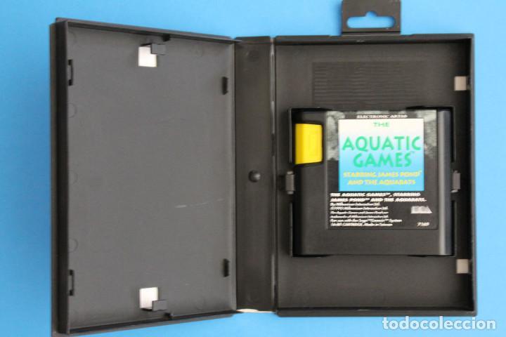 Videojuegos y Consolas: Sega Megadrive - Aquatic Games - PAL ESP - Foto 2 - 211956862
