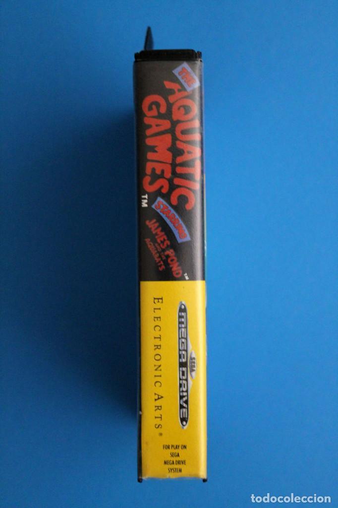 Videojuegos y Consolas: Sega Megadrive - Aquatic Games - PAL ESP - Foto 3 - 211956862