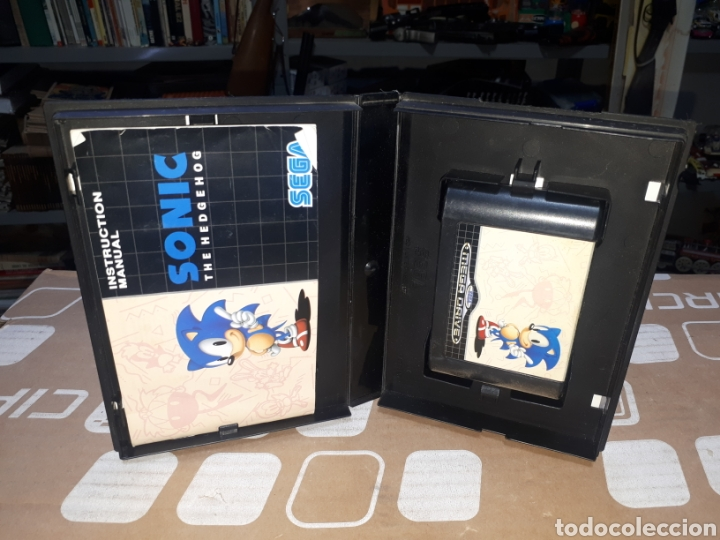 SONIC THE HEDGEHOG SEGA MEGADRIVE MEGA DRIVE (Juguetes - Videojuegos y Consolas - Sega - MegaDrive)