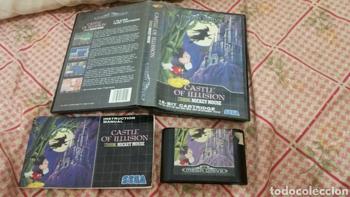 CASTLE OF ILLUSION MEGA DRIVE (Juguetes - Videojuegos y Consolas - Sega - MegaDrive)