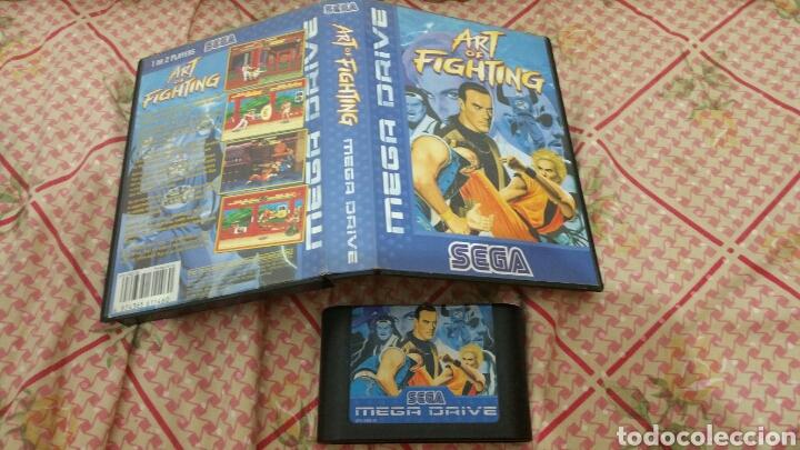 ART OF FIGHTING MEGA DRIVE (Juguetes - Videojuegos y Consolas - Sega - MegaDrive)