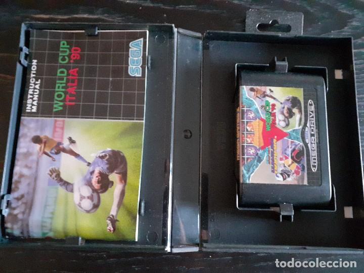 Videojuegos y Consolas: MEGA GAMES 1 ** 3 JUEGOS EN 1 ** SUPER HANG ON - WORLD CUP ITALIA 90 - COLUMNS **¡¡ EN BUEN ESTADO ! - Foto 2 - 214525477