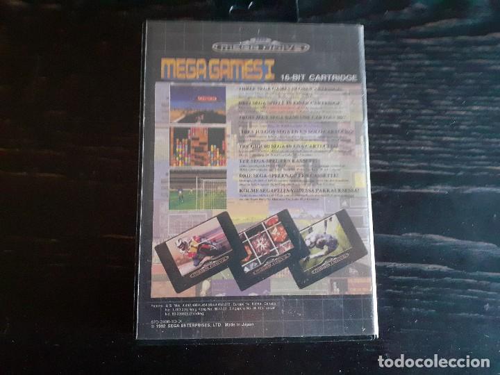 Videojuegos y Consolas: MEGA GAMES 1 ** 3 JUEGOS EN 1 ** SUPER HANG ON - WORLD CUP ITALIA 90 - COLUMNS **¡¡ EN BUEN ESTADO ! - Foto 3 - 214525477