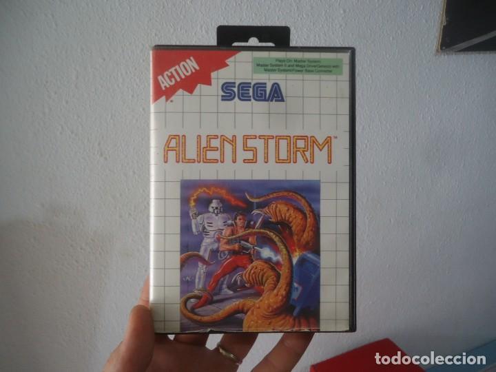 VIEDEOJUEGO ALIEN STORM SEGAN 1991 MASTER SYSTEM,MASTER SYSTEM II,MEGA DRIVE/GENESIS (Juguetes - Videojuegos y Consolas - Sega - MegaDrive)