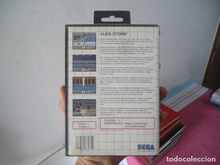 Videojuegos y Consolas: viedeojuego alien storm segan 1991 master system,master system II,mega drive/genesis - Foto 2 - 215245713