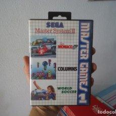 Videojuegos y Consolas: VIDEOJUEGO MASTERS GAME I SEGA MASTER SYSTEM II AÑO 1993. Lote 215245997