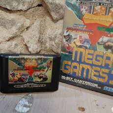 Jeux Vidéo et Consoles: JUEGO SEGAMEGA DRIVE MEGA GAMESI SUPERHANG-ON WORLD CUP ITALIA 90. Lote 215709067