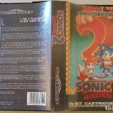 Videojuegos y Consolas: SONIC 2 THE HEDGEHOG JUEGO PARA SEGA MEGA DRIVE COMPLETO Y TOTALMENTE ORIGINAL MADE IN JAPAN 1992. Lote 216499746