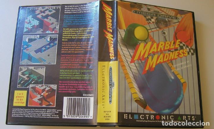 MARBLE MADNESS JUEGO PARA SEGA MEGA DRIVE COMPLETO Y TOTALMENTE ORIGINAL AÑO 1991 (Juguetes - Videojuegos y Consolas - Sega - MegaDrive)