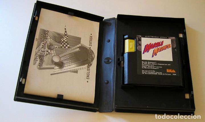 Videojuegos y Consolas: MARBLE MADNESS JUEGO PARA SEGA MEGA DRIVE COMPLETO Y TOTALMENTE ORIGINAL AÑO 1991 - Foto 2 - 216513556