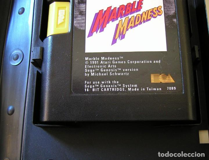Videojuegos y Consolas: MARBLE MADNESS JUEGO PARA SEGA MEGA DRIVE COMPLETO Y TOTALMENTE ORIGINAL AÑO 1991 - Foto 4 - 216513556