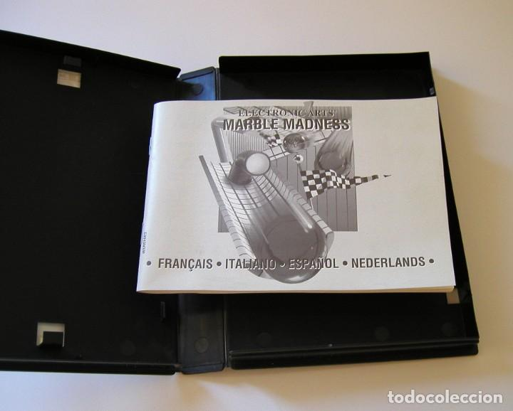 Videojuegos y Consolas: MARBLE MADNESS JUEGO PARA SEGA MEGA DRIVE COMPLETO Y TOTALMENTE ORIGINAL AÑO 1991 - Foto 5 - 216513556