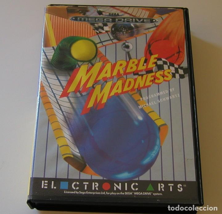 Videojuegos y Consolas: MARBLE MADNESS JUEGO PARA SEGA MEGA DRIVE COMPLETO Y TOTALMENTE ORIGINAL AÑO 1991 - Foto 6 - 216513556