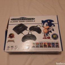 Videojuegos y Consolas: SEGA MEGA DRIVE CLASSIC GAME CONSOLE 81 JUEGOS. Lote 218254485