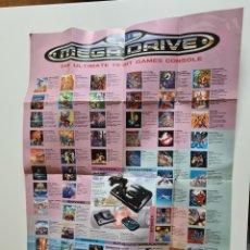 Videojuegos y Consolas: CATALOGO SEGA MEGADRIVE. Lote 218675200