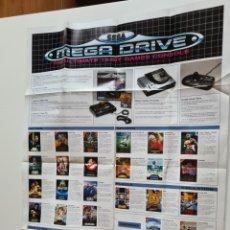 Videojuegos y Consolas: CATALOGO SEGA MEGADRIVE.. Lote 218675278