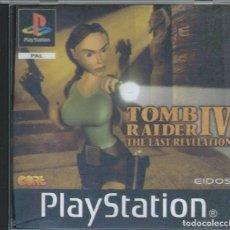 Videojuegos y Consolas: TOMB RAIDER IV PLAY 1 CAJA VACIA SONY PAL. Lote 218828301