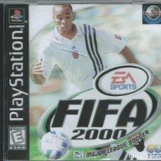 Videojuegos y Consolas: FIFA 2000 PLAY 1 CAJA VACIA SONY PAL. Lote 218828422